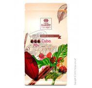 Шоколад черный оригинальный Cuba 70% Cacao Barry фото цена