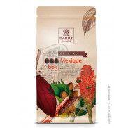 Шоколад черный оригинальный Mexico 66% Cacao Barry 1кг