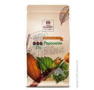 Шоколад молочный оригинальный Papouasie 36% Cacao Barry 1кг фото цена