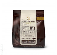 """Шоколад черный """"Callebaut Select"""" 54,5% какао, каллеты 0,4 кг фото цена"""