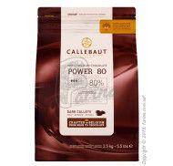 "Шоколад-кувертюр черный ""Callebaut Powerful"" 80 % какао фото цена"
