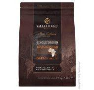 Шоколад темный Callebaut Madagascar 67,4% какао фото цена
