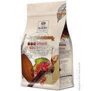 Шоколад молочный оригинальный Ghana 40.5% Cacao Barry фото цена