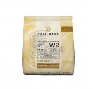 Шоколад  Callebaut белый   W2  0,4 кг фото цена