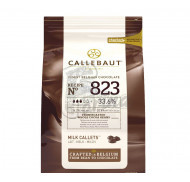 Шоколад кувертюр молочный 33,6 % какао, каллеты 1 кг Original Pack фото цена