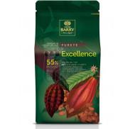 Шоколад черний шоколадний кувертюр EXCELLENCE 55% 2,5 кг фото цена