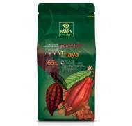 Шоколад черный кувертюр Какао Барри INAYA™ 65% 1 кг фото цена