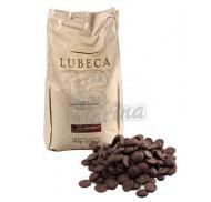 Шоколад темний кувертюр Lubeca IVORY COAST 55% в виде калет 1 кг фото цена