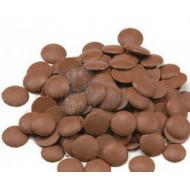 Шоколад кондитерский кувертюр молочный 33,6 %  1кг фото цена