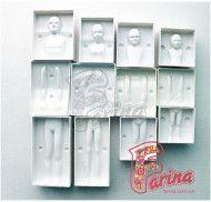 Молд пластиковый 3Д Семья