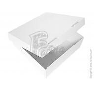 Коробка для кондитерских изделий (торта, пирожных, печенья, пряников и т.д) 300x300x110мм