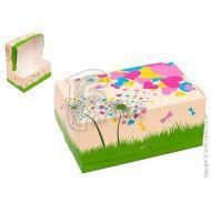 "Коробка Контейнер ""Одуванчик"" для десертов, пирожных, тортов 180x120x80 мм фото цена"
