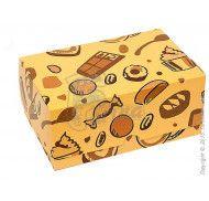 """Коробка на 2 кекса  """"Сладости"""""""
