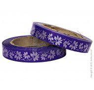 Декоративная лента 2x50 фиолетовая фото цена