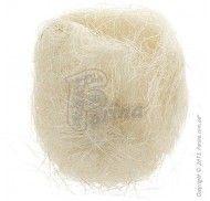 Растительное волокно Сизаль, цвет топленое молоко 100г фото цена