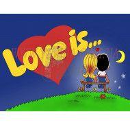 Картинка love is №1 фото цена