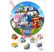 Картинка Робокар Поли №1 фото цена