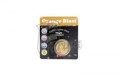 Блестящая пыльца Magic Colours Lustre Dust -7мл-Оранжевый< фото цена