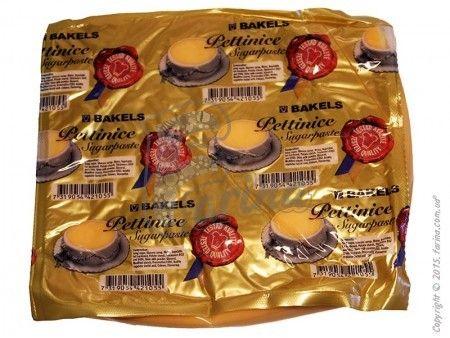 Мастика для покрытия торта Bakels Pettinice (Персиковая) 1 кг< фото цена