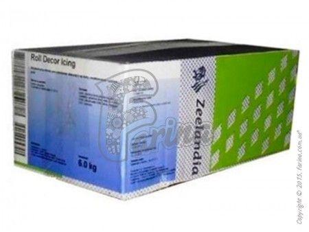 Мастика Zeelandia Icing Roll Decor 7,5 кг< фото цена