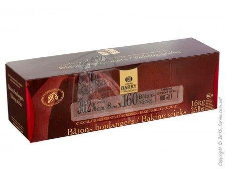 Шоколадные палочки молочные Cacao Barry 1.6 кг< фото цена