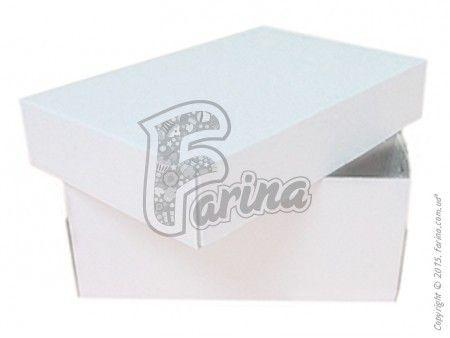 Универсальная коробка  для кондитерских изделий 150x100x70мм, белая< фото цена
