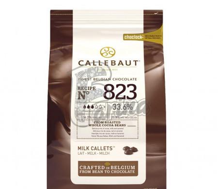 Шоколад кувертюр молочный 33,6 % какао, каллеты 1 кг Original Pack< фото цена