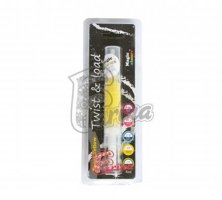 Краситель-блеск Желтый с кисточкой Edible Glitter Brush< фото цена