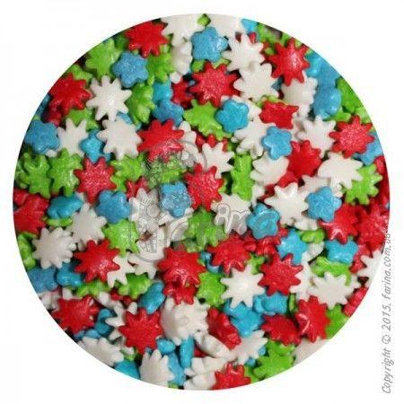 Посыпка декоративная цветочки,маргаритки №2 50 г.< фото цена