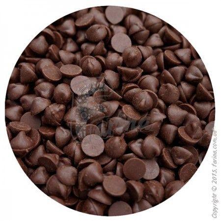 Термостабильная глазурь кондитерская &quot;Капельки&quot; (черный шоколад) 0,2 кг.< фото цена