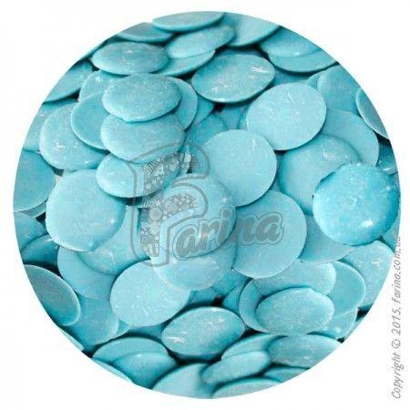 Глазурь кондитерская голубая (с молочным вкусом)< фото цена
