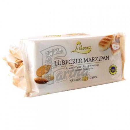 Марципановая миндальная паста Lubeca, 52% из средиземноморского миндаля 200 грм< фото цена