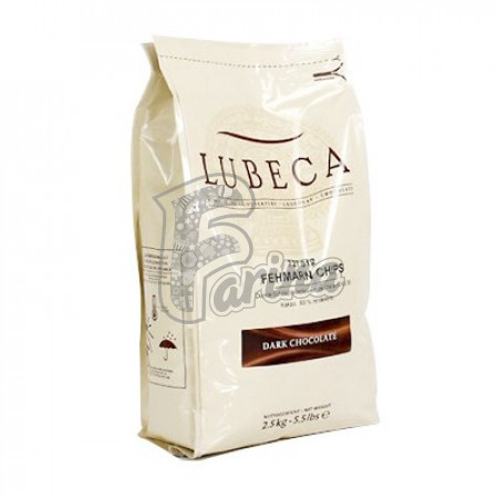 Шоколад темний кувертюр Lubeca FEHMARN 60% в виде калет  1 кг< фото цена