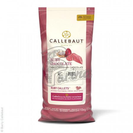 Шоколад Callebaut Ruby RB1 10 кг< фото цена