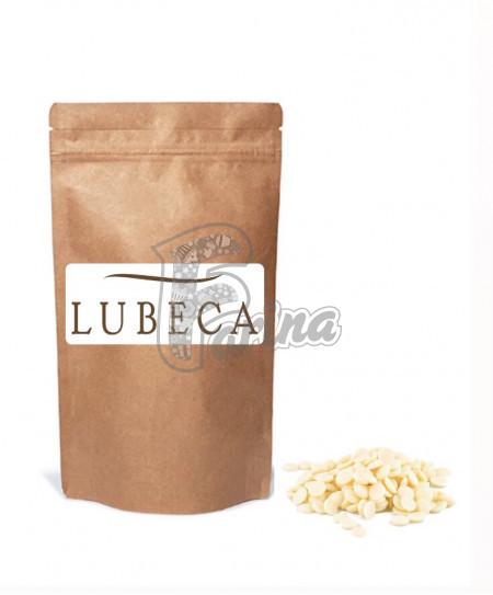 Шоколад белый Lubeca 29% в виде калет 400гр< фото цена
