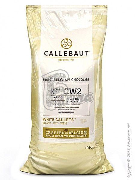 Шоколад белый Callebaut CW2 25,9 % какао< фото цена