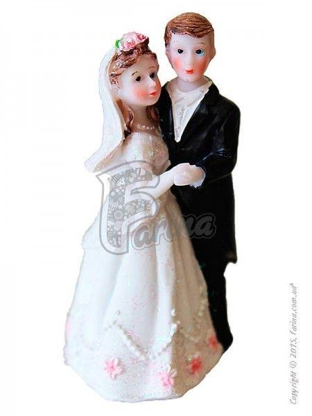 Свадебные фигурки жениха и невесты 9 см 1200D< фото цена