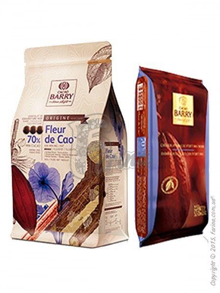 Шоколад черный FLEUR DE CAO™ 70%< фото цена