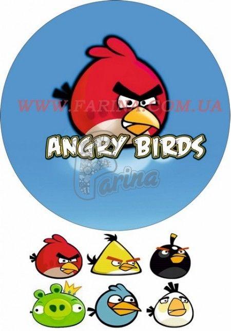Картинка Agry Birds №1< фото цена