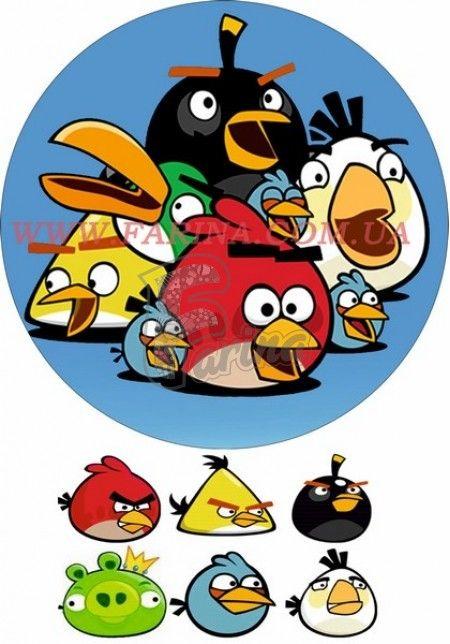 Картинка Agry Birds №2< фото цена