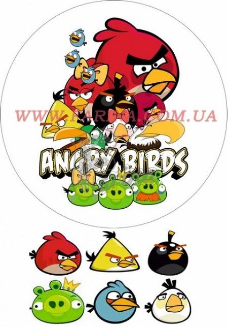 Картинка Agry Birds №3< фото цена